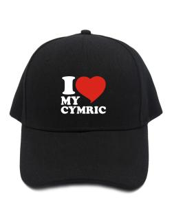 I Love My Cymric Baseball Cap