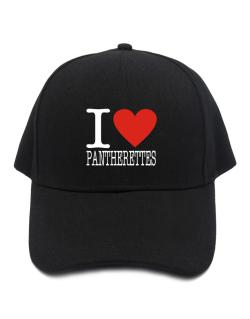 I Love Pantherettes Baseball Cap