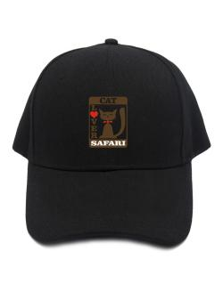Cat Lover - Safari Baseball Cap