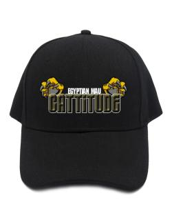 Egyptian Mau Cattitude Baseball Cap