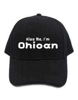 Kiss Me, I Am Ohioan Baseball Cap