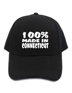 100% Made In Connecticut Baseball Cap