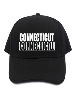 Connecticut Negative Baseball Cap