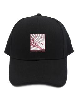 Ambient House - Musical Notes Baseball Cap