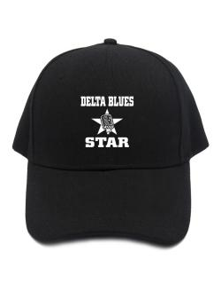 Delta Blues Star - Microphone Baseball Cap
