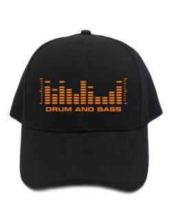 Drum And Bass - Equalizer Baseball Cap