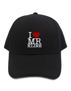 I Love Mr Kline Baseball Cap