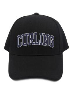 Curling Athletic Dept Baseball Cap