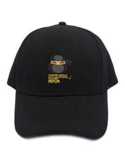Carrer Goals: Accounting Clerk - Ninja Baseball Cap