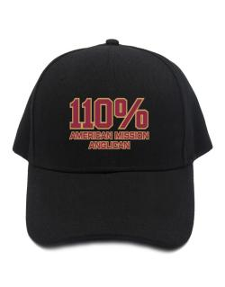 110% American Mission Anglican Baseball Cap