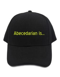 Abecedarian Is Baseball Cap