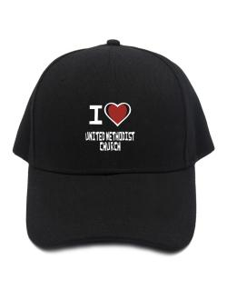 I Love United Methodist Church Baseball Cap