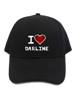 I Love Darline Baseball Cap
