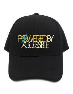 Powered By Accessible Baseball Cap