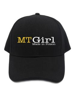 Girl Made In Polson Baseball Cap
