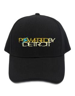 Powered By Detroit Baseball Cap