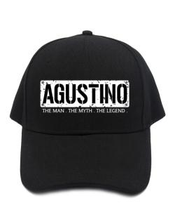 Agustino : The Man - The Myth - The Legend Baseball Cap