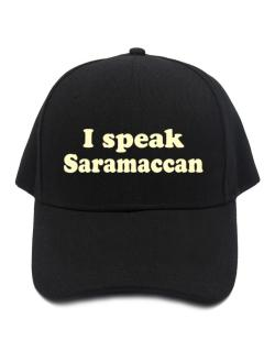 I Speak Saramaccan Baseball Cap