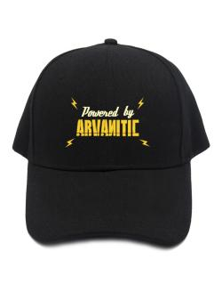 Powered By Arvanitic Baseball Cap