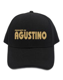 Property Of Agustino Baseball Cap