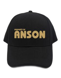 Property Of Anson Baseball Cap