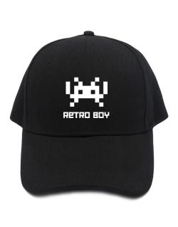Retro Boy Baseball Cap