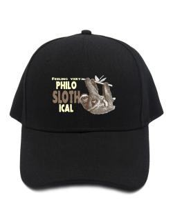 Philosophical Sloth Baseball Cap