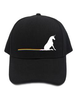 Unicorn Rainbow Poop Baseball Cap