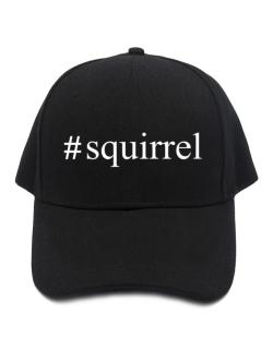#Squirrel - Hashtag Baseball Cap