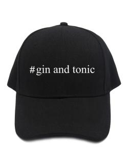 #Gin and tonic Hashtag Baseball Cap