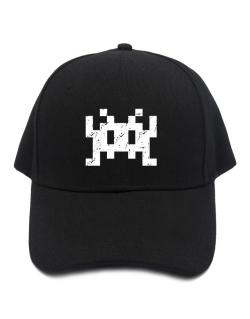 Gorra de Space invaders retro