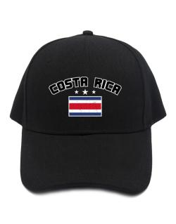 Costa Rica flag Baseball Cap