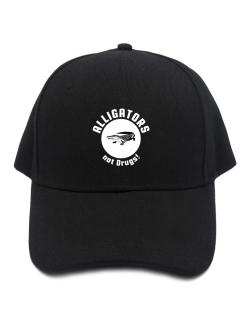 Alligators not drugs! Baseball Cap