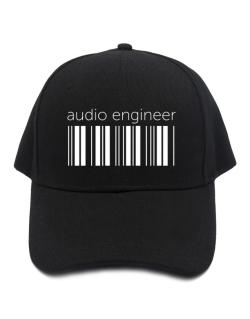 Audio Engineer barcode Baseball Cap