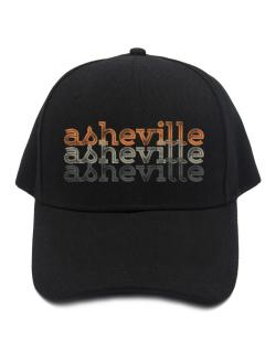 Asheville repeat retro Baseball Cap