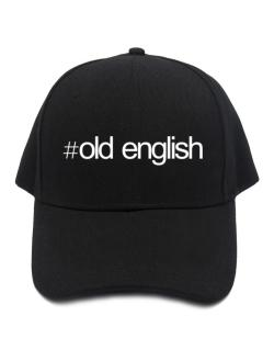 Hashtag Old English Baseball Cap
