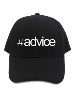Hashtag Advice Baseball Cap