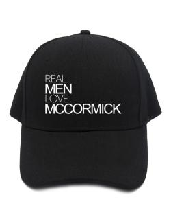 Gorra de Real men love McCormick