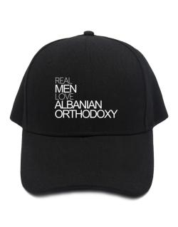 Real men love Albanian Orthodoxy Baseball Cap