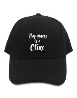 Happiness is a Cline Baseball Cap
