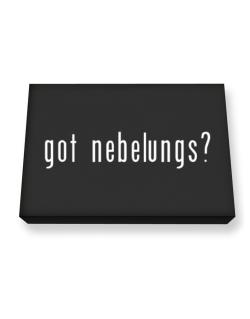 Got Nebelungs? Canvas square