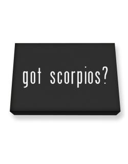 Got Scorpios? Canvas square