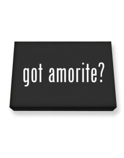 Got Amorite? Canvas square
