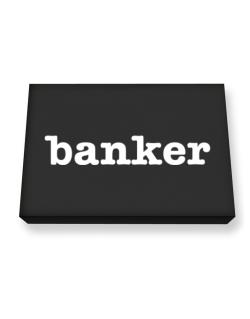 Banker Canvas square
