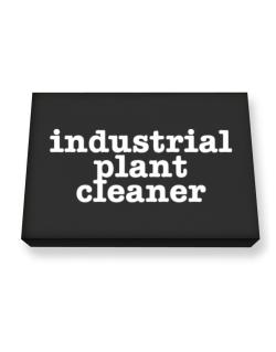 Industrial Plant Cleaner Canvas square