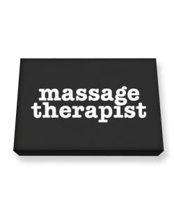 Massage Therapist Canvas square