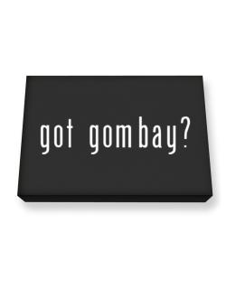 Got Gombay? Canvas square