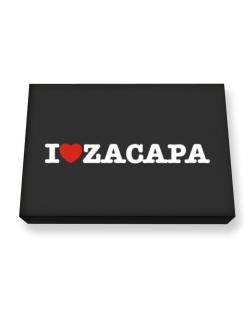 I Love Zacapa Canvas square
