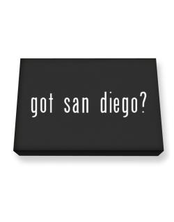Got San Diego? Canvas square