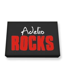 Adelio Rocks Canvas square